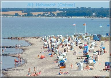 Alt-Hohwacht, Ostsee